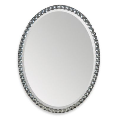 Beveled Oval Glass Mirrors