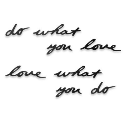Umbra® Do What You Love Wall Art