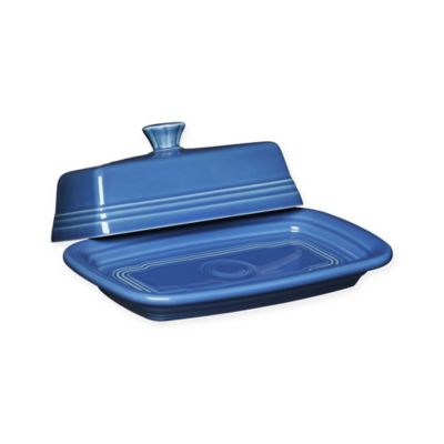 Fiesta® Lapis Extra-Large Covered Butter Dish