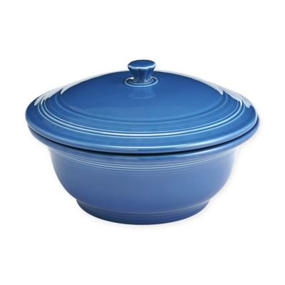 Fiesta® 70-Ounce Covered Casserole Dish in Lapis