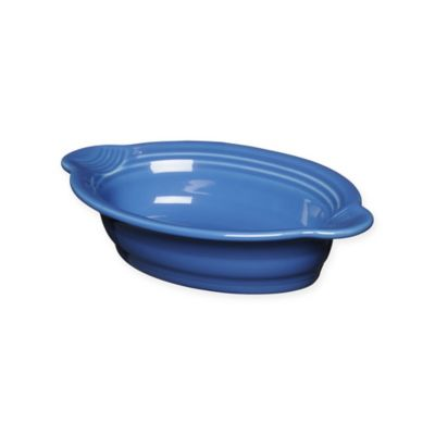 Fiesta® 17 oz. Oval Individual Casserole Dish in Lapis