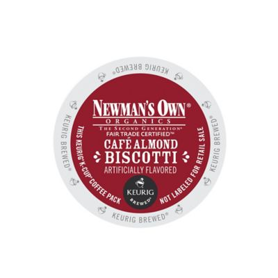 K-Cup® 18-Count Newman's Own® Organics Café Almond Biscotti Coffee for Keurig® Brewers