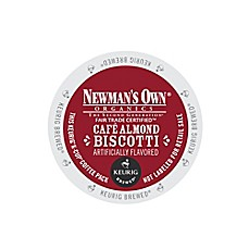 Keurig® K-Cup® Pack 18-Count Newman's Own® Organics Café Almond Biscotti Coffee