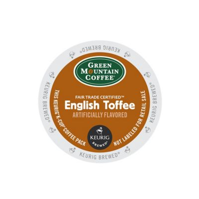 K-Cup® 18-Count Green Mountain Coffee® English Toffee Coffee for Keurig® Brewers