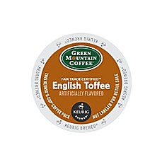 Keurig® K-Cup® Pack 18-Count Green Mountain Coffee® English Toffee Coffee
