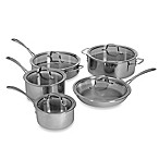Calphalon® Tri-Ply Stainless Steel 10-Piece Cookware Set and Open Stock