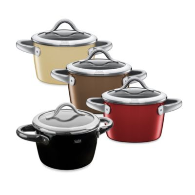 WMF Silit Ceramic 2-Quart Covered High Casseroles