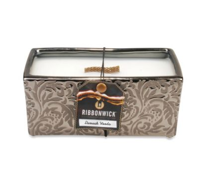 RibbonWick™ Damask Woods Rectangle Scented Candle