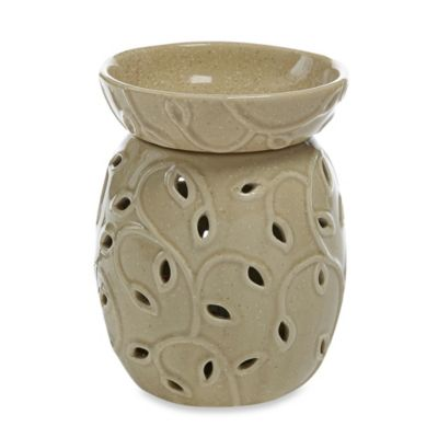 Yankee Candle® Everyday Ceramic Leaf Cutout with LED Tarts® Wax Melts Warmer