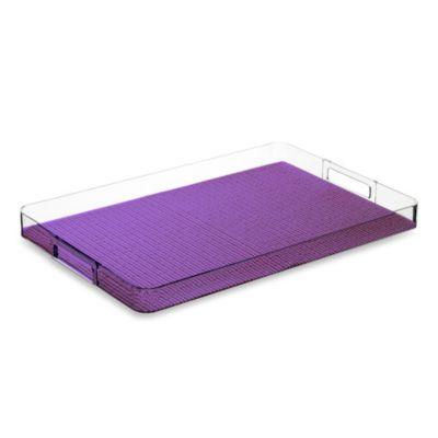 Purple Serving Tray