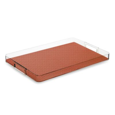 Kraftware™ Fishnet Serving Tray in Brick
