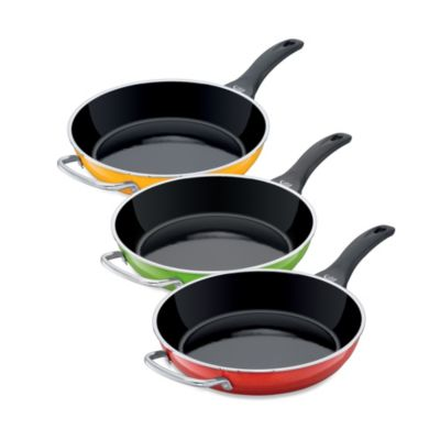 WMF Silit Ceramic 11-Inch Deep Open Fry Pans with Auxiliary Handle