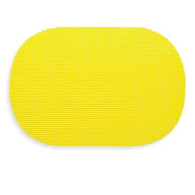 Kraftware™ Fishnet Oval Placemat in Yellow