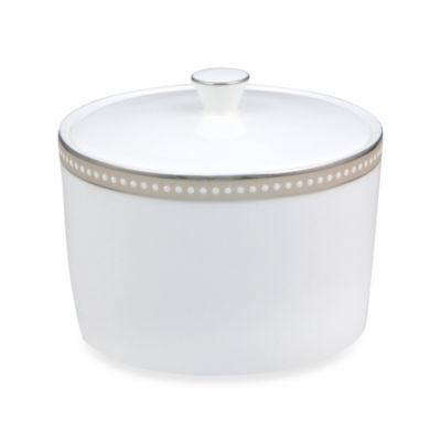 Nikko Oyster Pearl Sugar Bowl and Lid