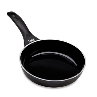 WMF Silit Ceramic 8-Inch Deep Open Fry Pan in Black