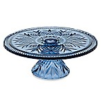 Godinger Dublin Colors Cake Plate in Blue