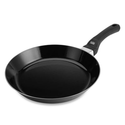 WMF Silit Ceramic 11-Inch Shallow Open Fry Pan in Black