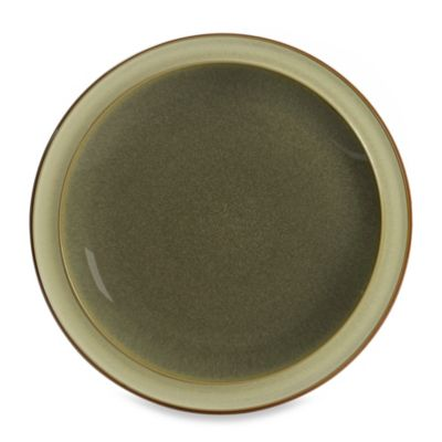 Denby Fire Tea Plate in Sage/Cream