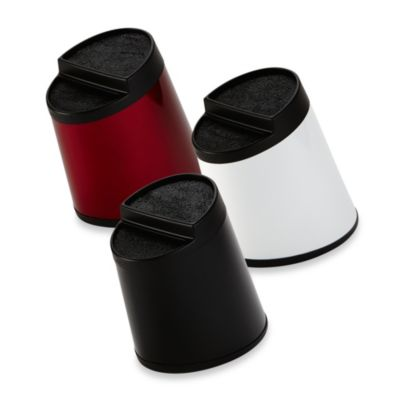 Kapoosh Slotless Knife Block in White