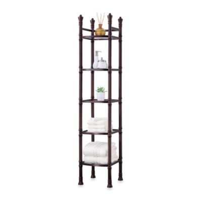 Monaco Bath Space Saver Etagere in Oil-Rubbed Bronze