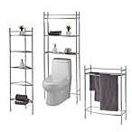 No Tools 5-Tier Bath Furniture in Chrome