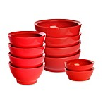 Calibowl Bowls Set in Red