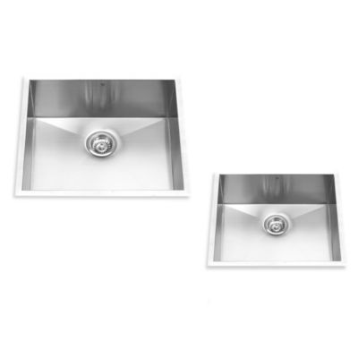 VIGO 23-Inch Single Bowl Stainless Steel Undermount Kitchen Sink