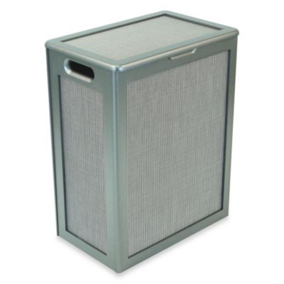 Redmon Collection Pewter Hamper