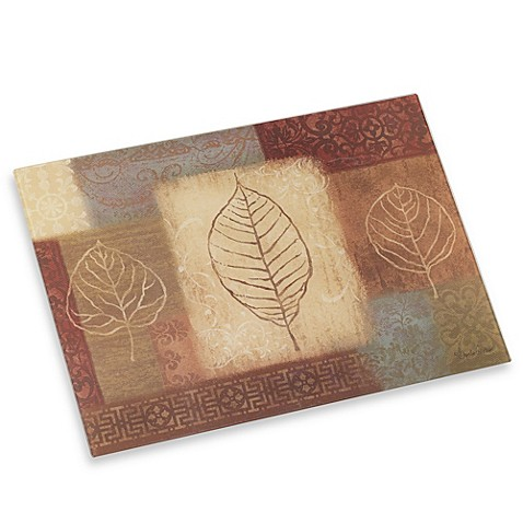 CounterArt® Leaf Collage Cutting Board