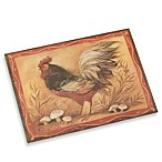 CounterArt® Mushroom Rooster Cutting Board