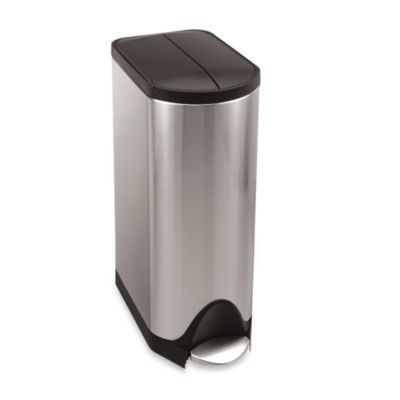 simplehuman® 30-Liter Butterfly Step Trash Can