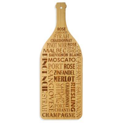Totally Bamboo Wine Bottle Cutting Board