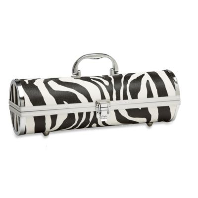 Zebra Wine Purse
