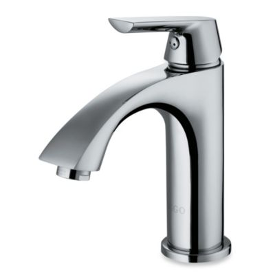 VIGO 7 3/4-Inch Single-Lever Curved Faucet in Chrome