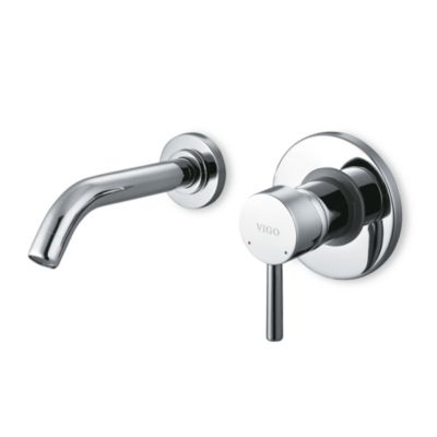 VIGO Single-Lever Wall Mounted Faucet in Chrome