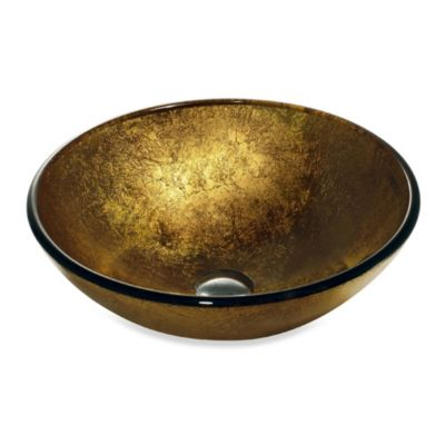 Gold Vessel Sink