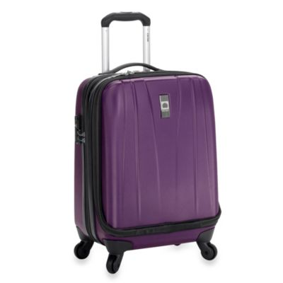 DELSEY Helium Shadow 19-Inch International Carry-On in Purple