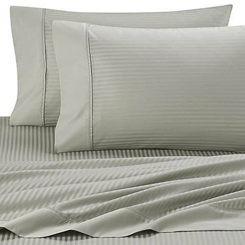 Buy Palais Royale 630 Stripe 100 Egyptian Cotton Sheet