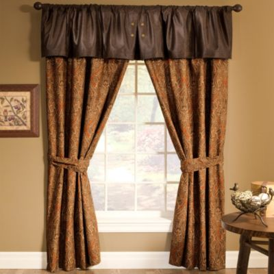 Prairie Stripe Window Valance