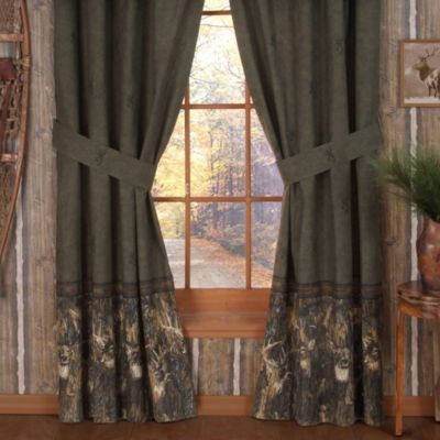 Browning Whitetails 84-Inch Window Panel Pair