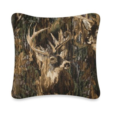 Browning Whitetails 16-Inch Square Toss Pillow