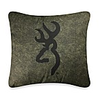 Browning Whitetails 20-Inch Square Toss Pillow