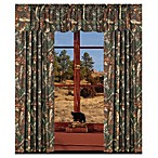 Oak Camo Window Panel Set of 2