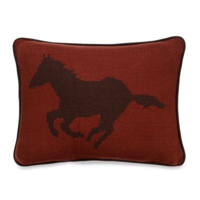 Wilderness Ridge Horse Pillow