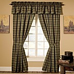 Barnwood Patch Valance