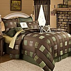 Barnwood Patch Comforter Set