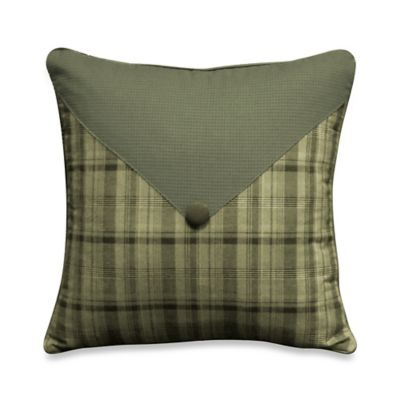 Barnwood Patch 14-Inch x 14-Inch Toss Pillow