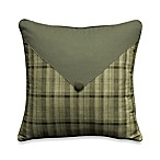 Barnwood Patch 14-Inch Square Toss Pillow