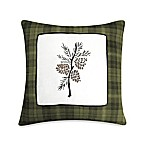 Barnwood Patch 18-Inch x 18-Inch Toss Pillow