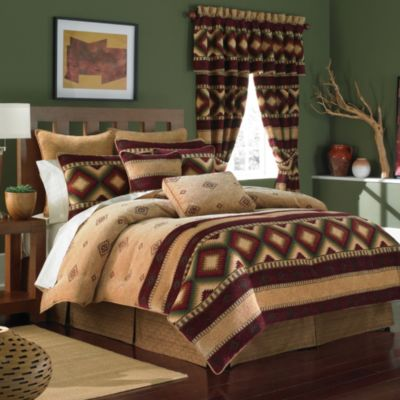 Croscill® Navajo 4-Piece California King Comforter Set
